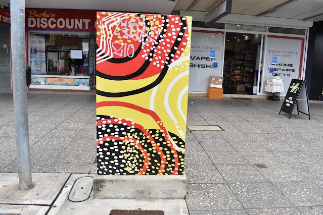 Riverwood Signal Box Art | Sydney Utility Art