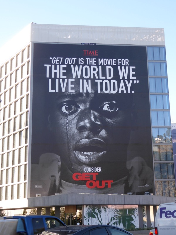 Giant Get Out For your consideration billboard