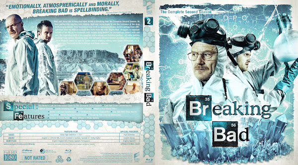 Capa Bluray Breaking Bad T02 The Complete Second Season