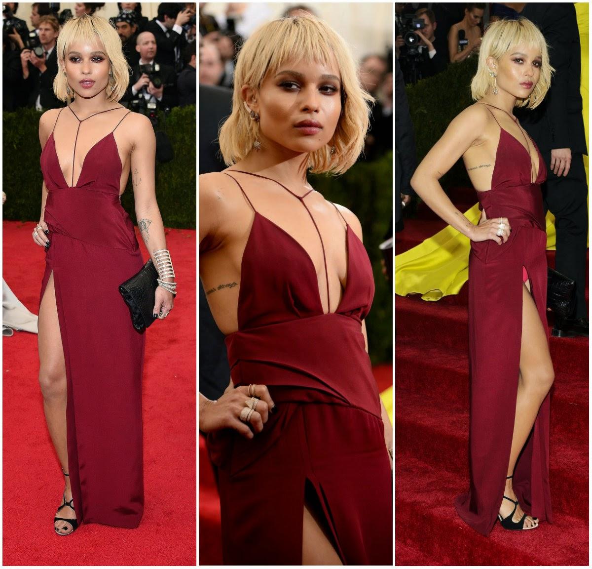 Zoe Kravitz Vs Amber Heard: Figurinos De Sucesso: As Celebridades No Red Carpet Do Met