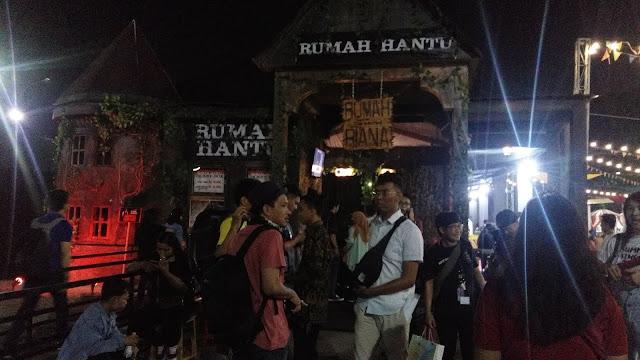 Rumah Hantu Sacred Riana PRJ Kemayoran 2018