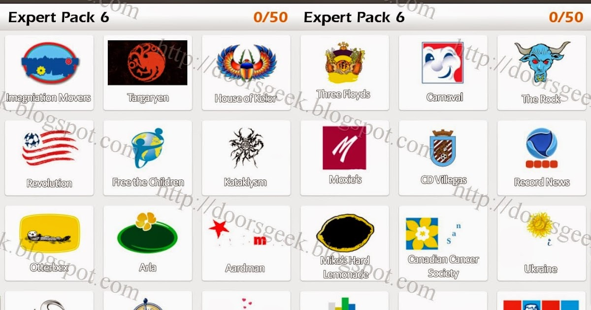Image Gallery logo game answers pack 6