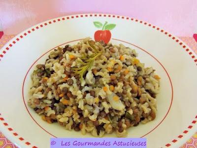 Les gourmandes astucieuses cuisine v g tarienne bio saine et gourmande faite maison riz - Comment cuisiner les lentilles vertes ...