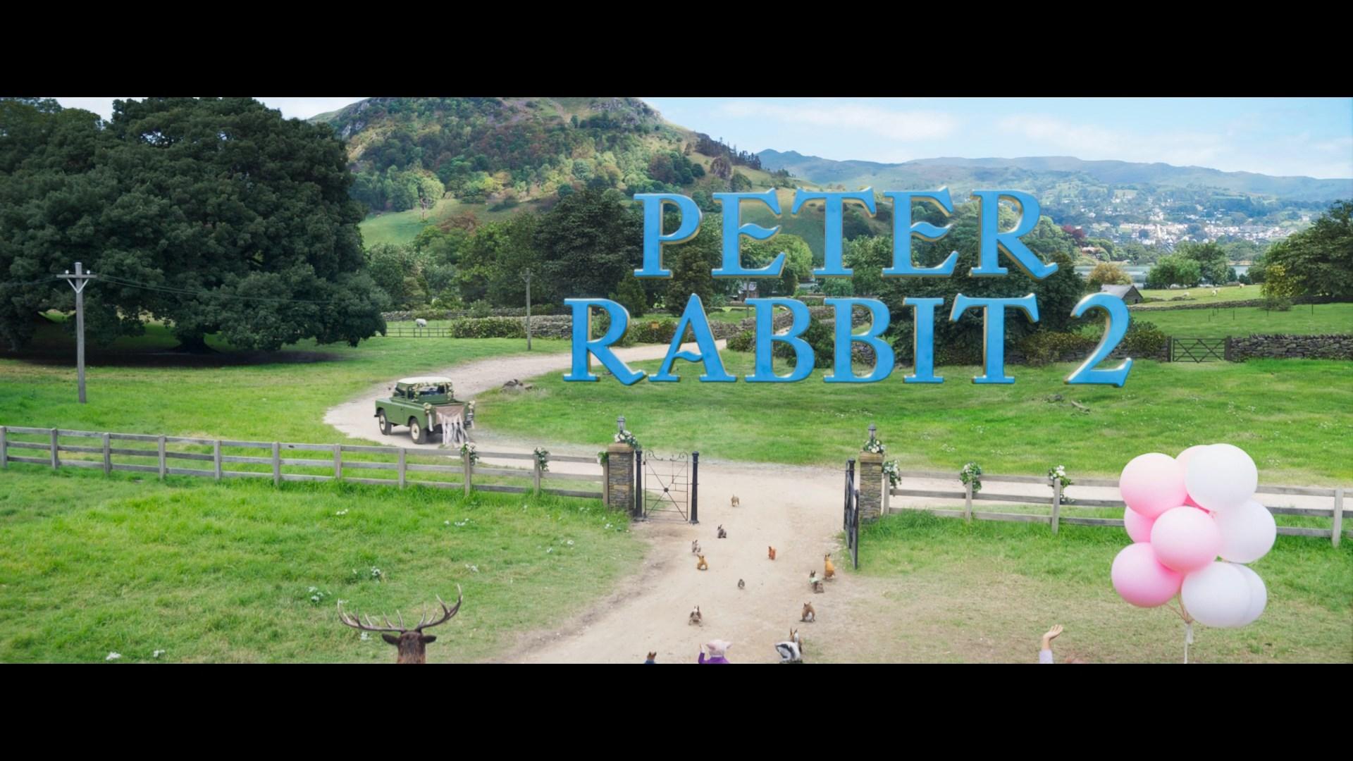 Peter Rabbit 2 Conejo en fuga (2021) 1080p Remux Latino