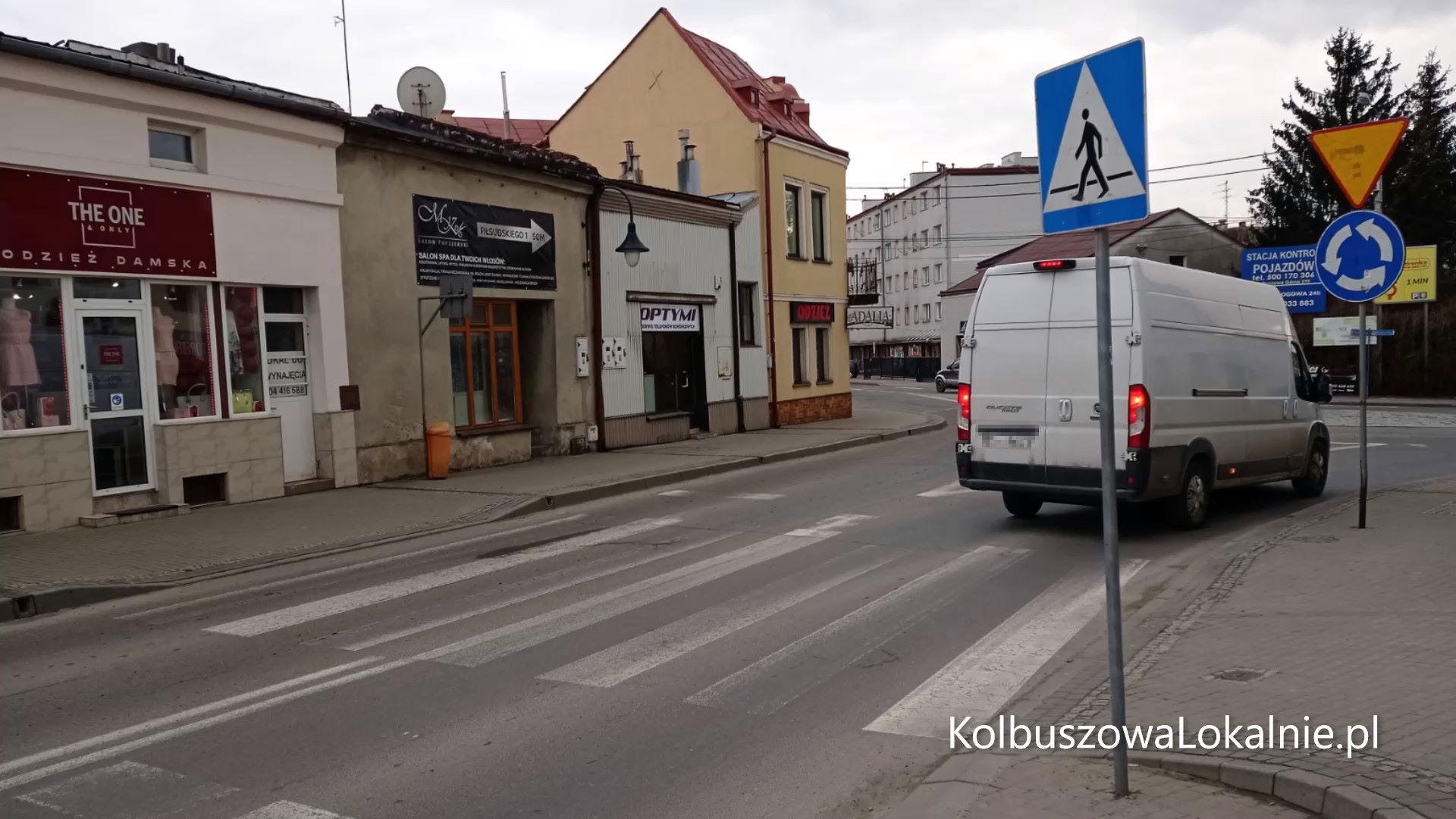 Czy te przejścia dla pieszych są bezpieczne?