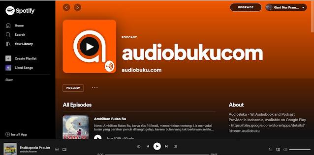 Audio Buku