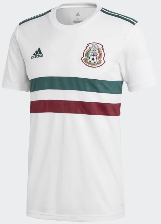 Adidas lança a camisa reserva do México para a Copa do Mundo - Show ... 99b83eacd7792