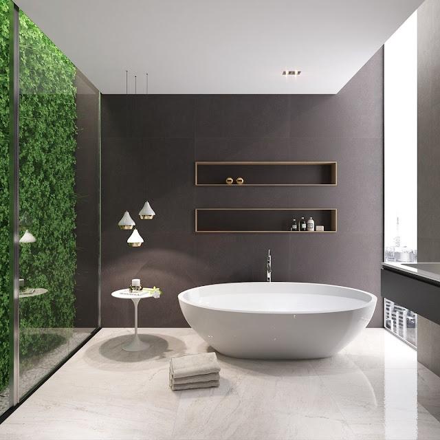 Latest Tiles Design For Bathroom