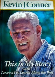 Kevin Conner's autobiography