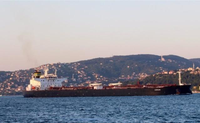 Petroliera greca gravemente danneggiata da una miniera sottomarina in Arabia Saudita