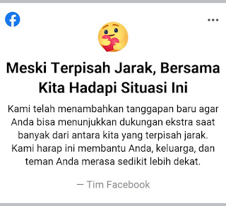 Notifikasi dari Facebook