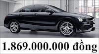 Giá xe Mercedes CLA 250 2020