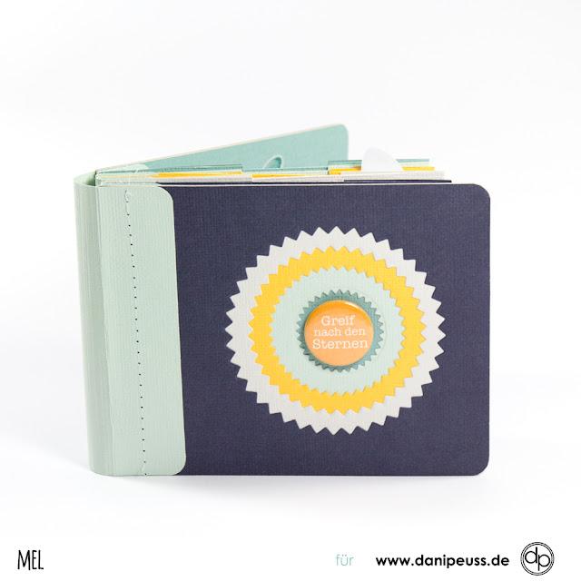Minibook aus Cardstock online Anleitung