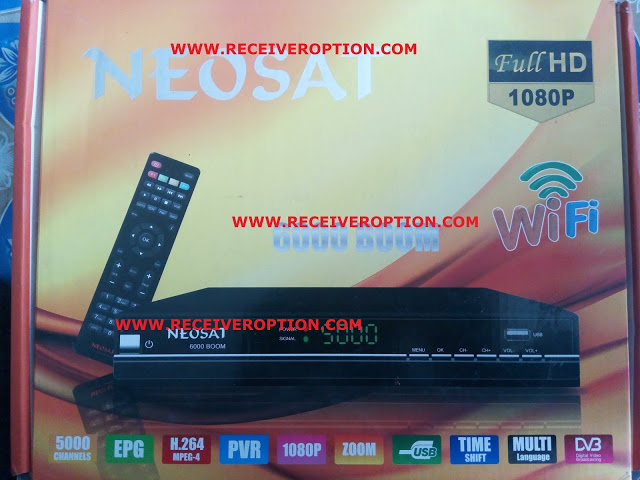 OLD NEOSAT 6000 BOOM HD RECEIVER AUTO ROLL POWERVU KEY NEW SOFTWARE
