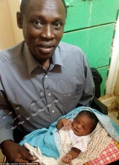 meriam ibrahim newborn baby picture