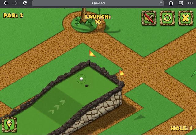 free games online minigolf world