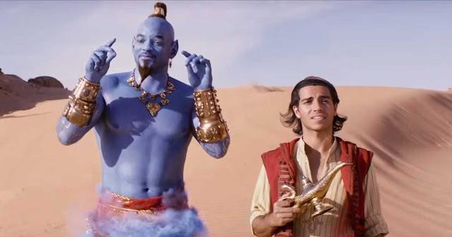 جون ويك يستسلم بسرعة لفيلم Aladdin، وهذا الأخير يحلق في سماء البوكس أوفيس العالمي بإيرادات خيالية