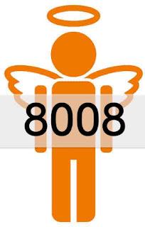 エンジェルナンバー 8008