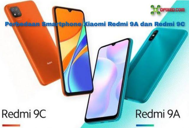 Perbedaan Smartphone Xiaomi Redmi 9A dan Redmi 9C