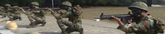 Uzbekistan Troops Learn Handling of Sig-Sauer Rifles From Indian Soldiers