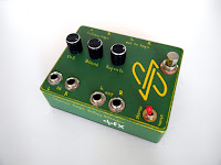 custom tape delay blender, stereo