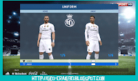 Real Madrid Kit 2015-2016 PES 2017