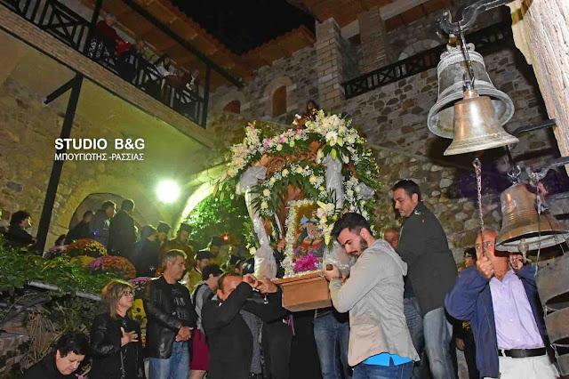 Αρχιερατικός Εσπερινός στην Ιερά Μονή Αγίου Δημητρίου Καρακαλά (βίντεο)