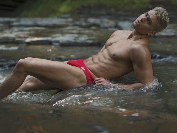 Garret Birka Shirtless by Jade Young