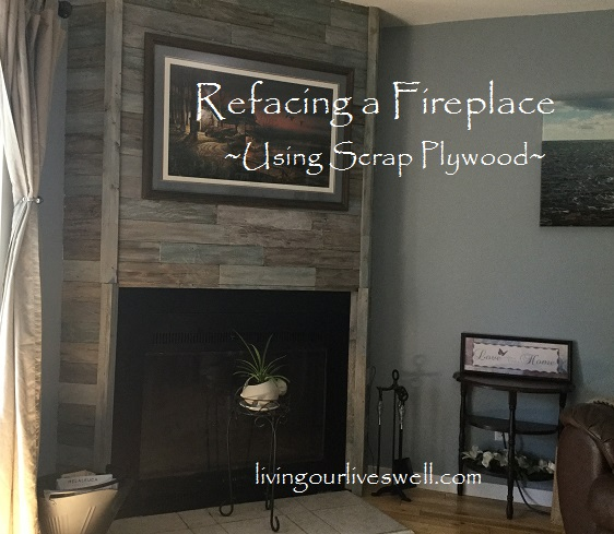 Fireplace Reno In 1960s House