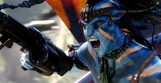 Sam Worthington în rolul Jake Sully din Filmul Avatar