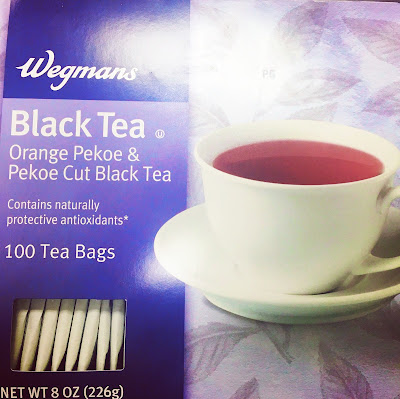 a box of 100 wegman black tea brand tea bags