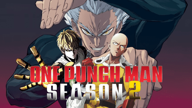 One Punch Man 2nd Poster