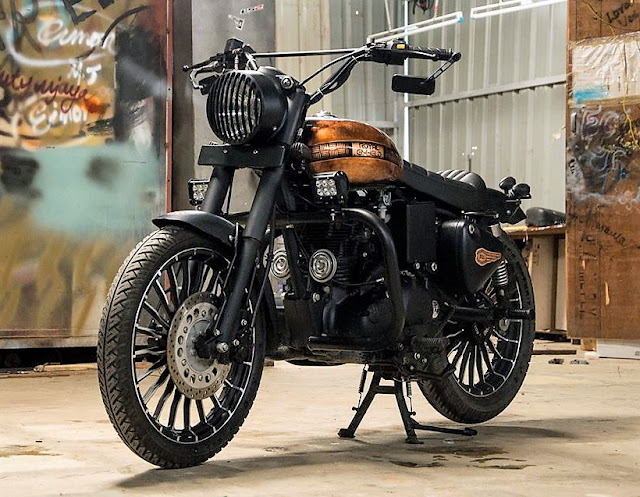 Royal Enfield classic Eimor Customs