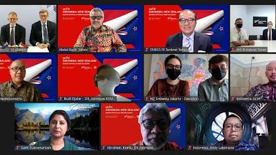 Kolaborasi Indonesia - Selandia Baru Kian Menguat di tengah Pandemi Jakarta