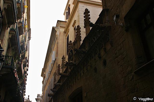 Il quartiere gotico ed i suoi edifici storici