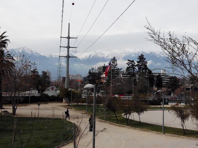 Parque Bicentenario, Santiago Chile