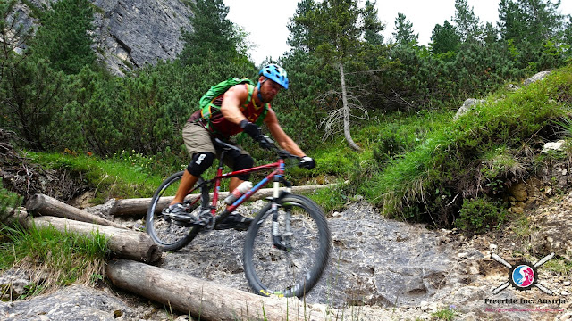 Biken in den Dolos