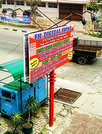 Neon Box Pekanbaru, Merk Toko Pekanbaru, Advertising Pekanbaru