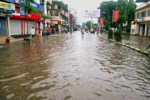 LGBI Airport Guwahati Reels Under Flash Flood