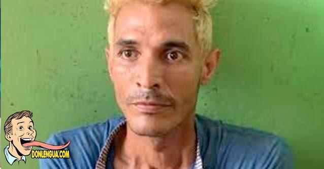Delincuente venezolano en Colombia se pintó el pelo para escapar a las autoridades