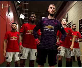 Daftar Rating Pemain Manchester United di PES 2020