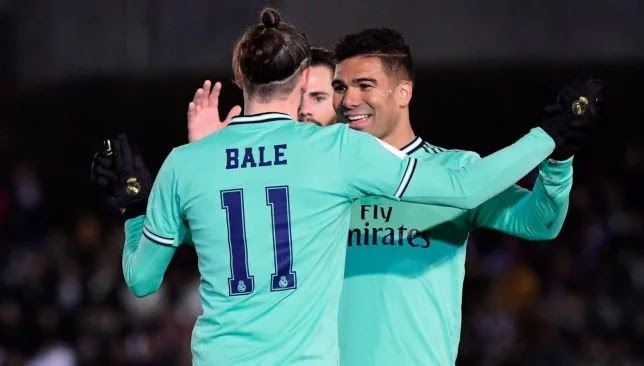 Real Madrid to the round of 16 in the Copa del Rey