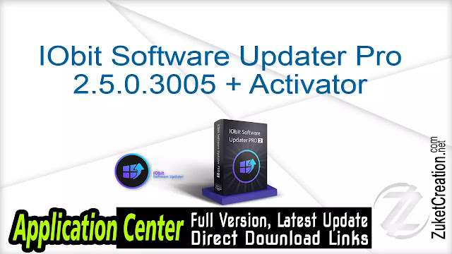 IObit Software Updater Pro 2.5.0.3005 + Activator