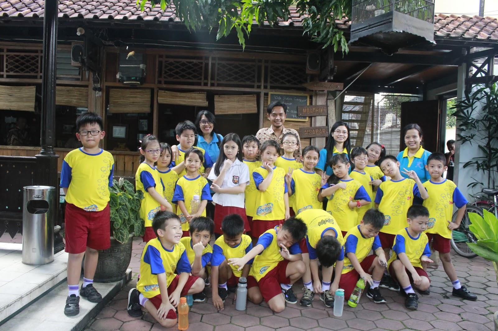 Kegiatan Self Development IP SD di McDonalds dan Kampung Batik Laweyan