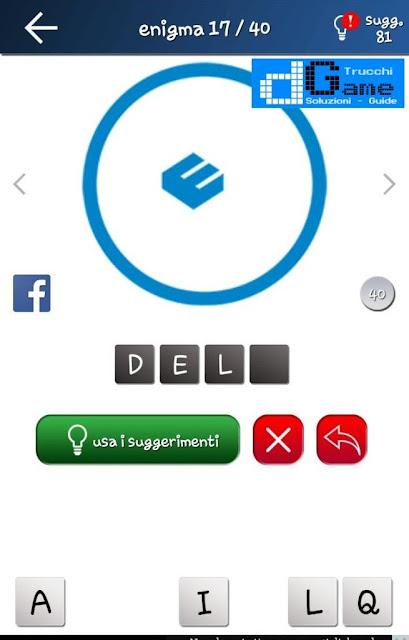 Quiz Logo gioco soluzione livello 1, loghi 1-40 | Parola e foto