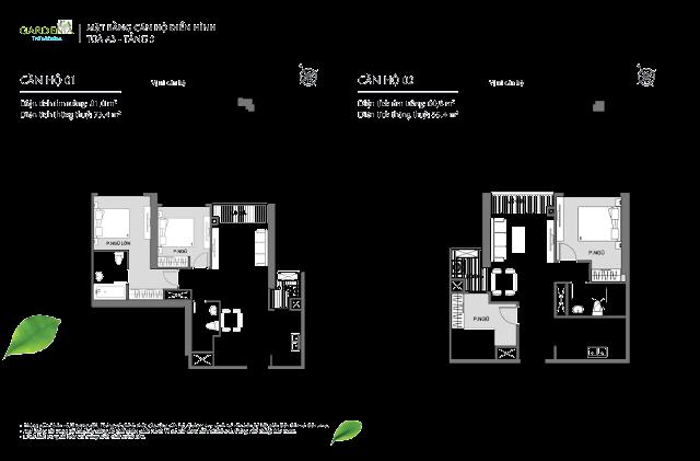 01 và 02 tầng 3 The Arcadia Vinhomes Gardenia