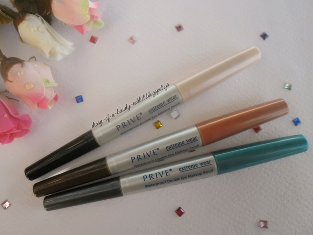 PRIVE Waterproof Double Eye Makeup Pencil