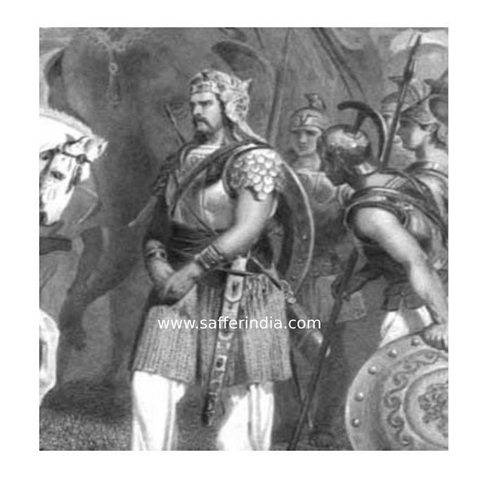 Poras In Hindi || Porus and Sikander War ||