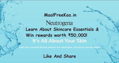 Skincare Essentials Free Neutrogena
