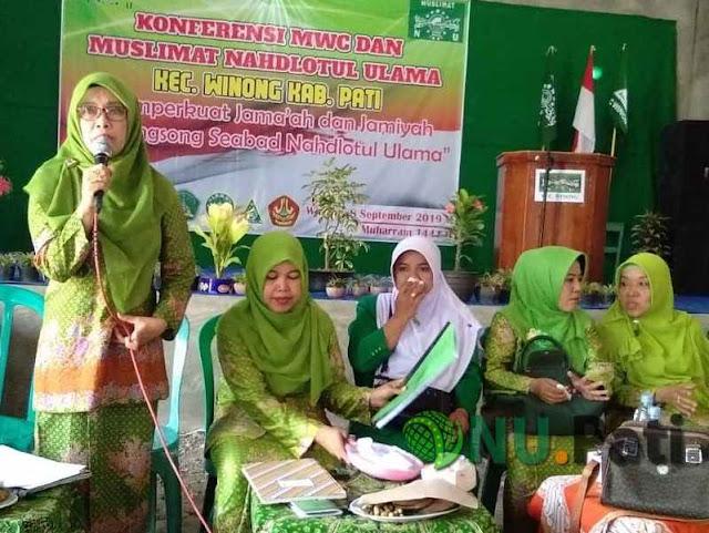 Arina Hidayah Ketua PAC Muslimat Winong